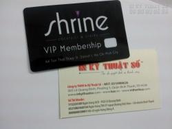 In thẻ nhựa, in thẻ VIP, in thẻ thành viên giá rẻ tại Bình Thạnh