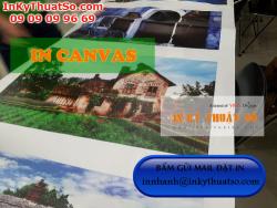 In canvas đẹp, chất lượng - trung tâm in ấn kỹ thuật số, in tranh giá rẻ tại Bình Thạnh