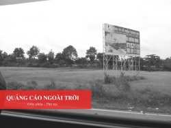 Thủ tục xin phép quảng cáo ngoài trời với billboard quảng cáo