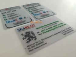 Những lưu ý khi in thẻ nhựa trong suốt là gì?