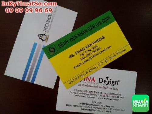 Dịch vụ in danh thiếp tại Công ty Quảng Cáo