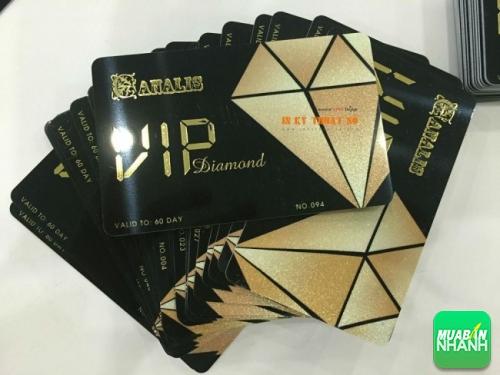 In thẻ nhựa VIP thực hiện bởi In Kỹ Thuật Số