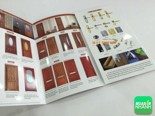 In brochure quảng bá hình ảnh sản phẩm cho doanh nghiệp