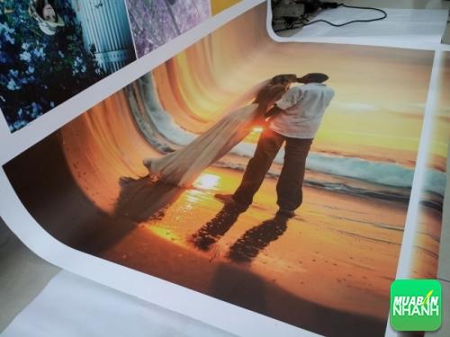 In silk tranh nghệ thuật, ảnh cưới