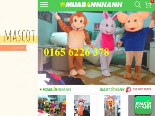 Mascot linh vật quảng cáo
