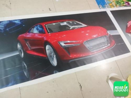 Backlit film chất lượng cao trang trí showroom xe hơi tuyệt đẹp