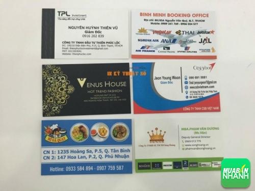 Danh thiếp có vai trò rất quan trọng trong quảng cáo, giới thiệu và thu hút khách hàng đến với công ty, doanh nghiệp của bạn