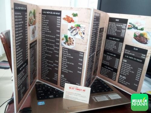 In PP cán format làm menu với thiết kế đẹp, tạo sự sang trọng, đẳng cấp cho nhà hàng ăn uống, quán cafe,...