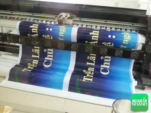 In hiflex làm banner quảng cáo chất lượng hình ảnh cao, sắc nét, nội dung rõ ràng, màu sắc ấn tượng mang lại hiệu quả quảng cáo cao cho người dùng