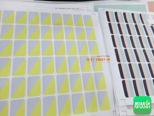 Tem decal dán sản phẩm in trên giấy đảm bảo chất lượng