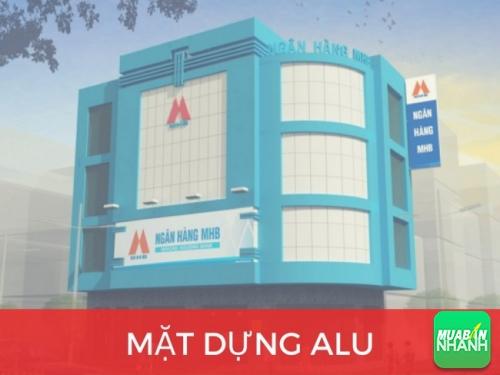 Mặt dựng Alu - Công cụ quảng cáo ngoài trời hiệu quả, bền lâu cho bạn!